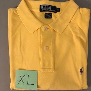 Men's Polo Ralph Lauren Yellow Polo size XL